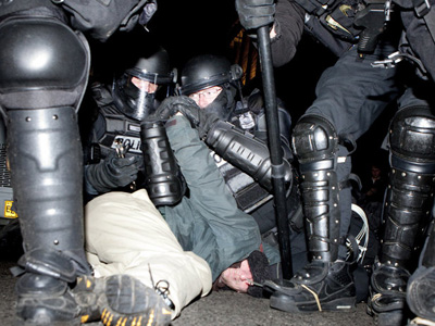 Occupational hazard: Brutal arrests in Re-Occupy Portland