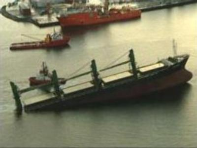 Oil tanker runs aground off Norway