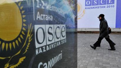 Divided OSCE nations approve security declaration at last