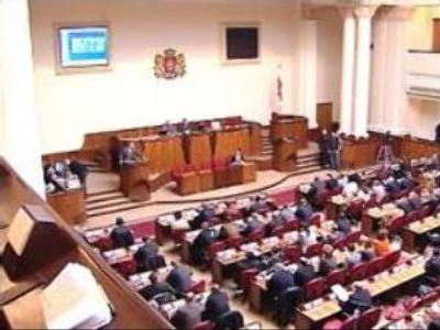 Parliament of Georgia could consider withdrawal from the CIS