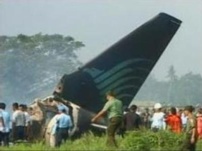 Passenger jet crashes in Indonesia