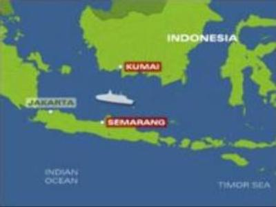 Passenger ship sinks off Java Island