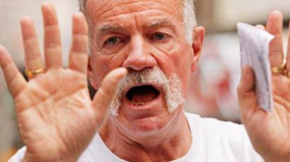 Radical pastor Terry Jones preaching to crowds in New York (Chip Somodevilla / Getty Images / AFP)