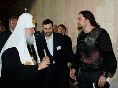 Patriarch of Russia – and former biker