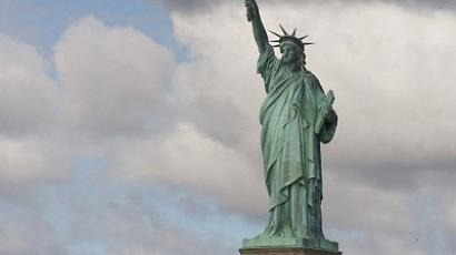 New York : The Statue of Liberty is seen on September 13, 2009 in New York Harbor. (AFP Photo/Don Emmert)