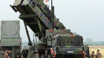 "The ""Patriot"" air defense missile system (AFP Photo/Ernd Wuestneck)"