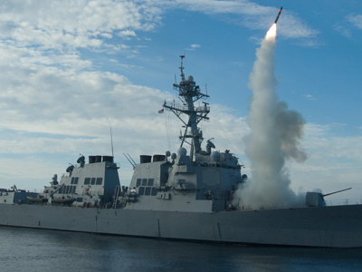 An operational tomahawk missile launch (Reuters / Handout)