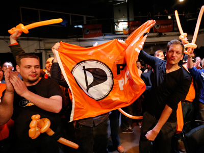 German Pirate Party to rock Merkel's boat?