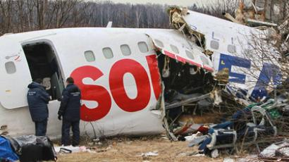 Siberian plane crash kills 31 (VIDEO, PHOTOS)