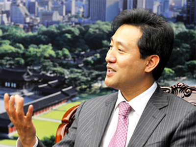 Plenty of Seoul: Korean mayor upbeat, despite economy