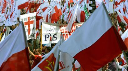 March for jobs: Thousands of anti-govt protesters rally in Poland (PHOTOS, VIDEO)