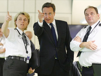 Cameron cops flak for importing police advice from US