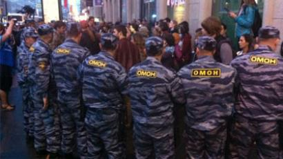 More arrests have been made as anti-government rallies continue for a third day. Twitted by kolpakov