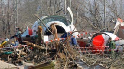 Russia passes presidential plane crash evidence on to Poland