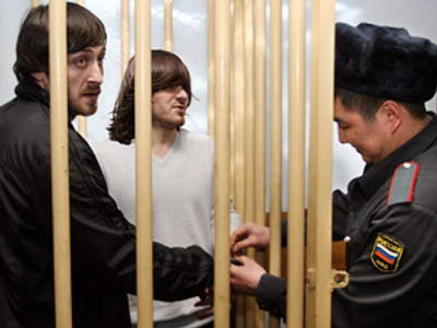 The Makhmudov brothers prior to their release