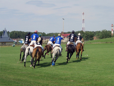 Polo survives in Russia despite crisis
