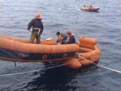 Poor weather stops rescuing in Baltic Sea