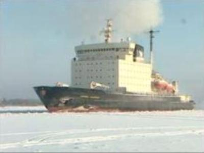 Powerful Russian ice breaker launched