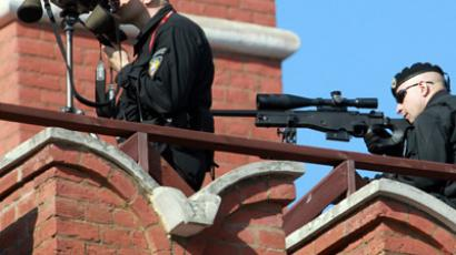Snipers on Red Square. (RIA Novosti / Mikhail Fomichev)