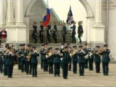 Presidential Regiment parade in Moscow