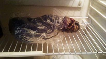 Alien stored in fridge (image from propetrozavodsk.ru)
