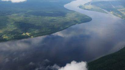 View of the Angara River (RIA Novosti / Alexandr Kryazhev)