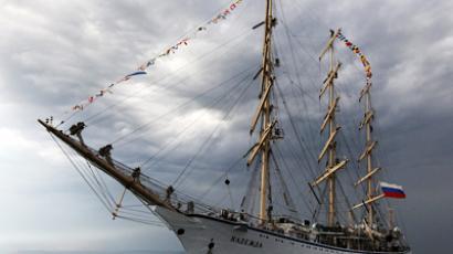 Nadezhda sailing boat (RIA Novosti / Vitaly Ankov)
