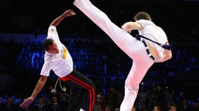 Brazilian martial art capoeira becomes part of Russian soul (RIA Novosti / Anton Denisov)