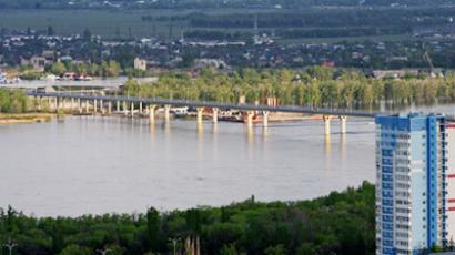Dancing bridge (RIA Novosti / Mikhail Mokrushin)