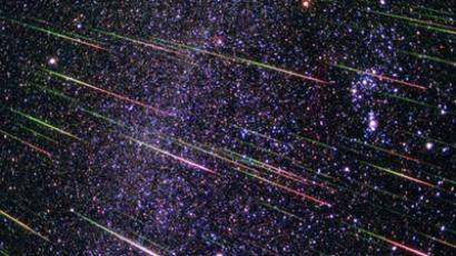 Meteor shower (image from penza-press.ru)