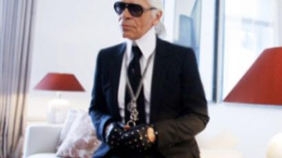 Karl Lagerfeld (AFP Photo DDP / Roland Magunia Germany out)