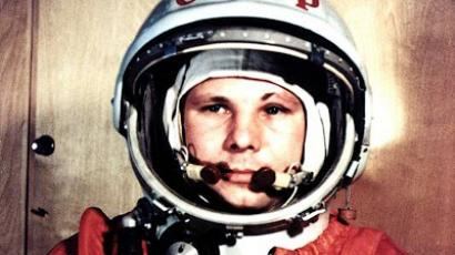 Gearing up for space flight in Gagarin's honor