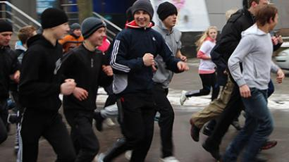 Moscow marathon ends in 'draw' (VIDEO)