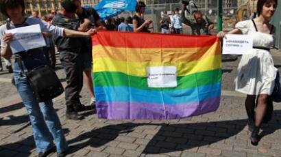 Gay pride parade (RIA Novosti / Andrey Stenin)