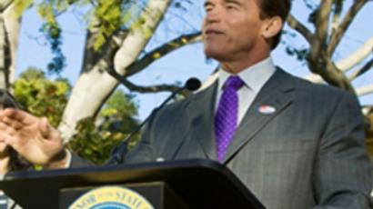 Arnold Schwarzenegger (AFP Photo / Duncan McIntosh)