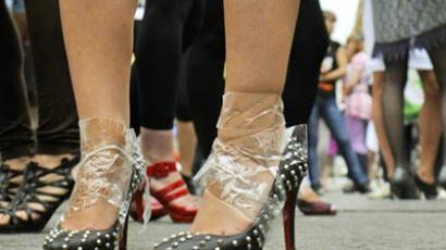 High heels competition (photo from www.dp.ru)