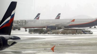 Aeroflot planes at Sheremetyevo International Airport (RIA Novosti / Alexander Vilf)