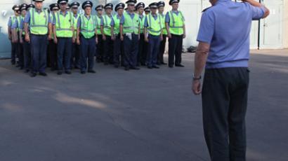 New policemen (RIA Novosti / Valery Melnikov)