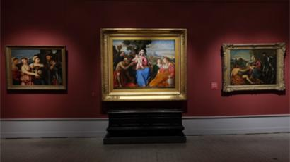 Virtual tour around Pushkin museum (from http://www.arts-museum.ru)