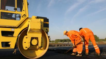 Russian roads to get renovated (RIA Novosti / Aleksandr Kryazhev)