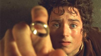 "A shot from Peter Jackson's ""Lord of th Rings"""