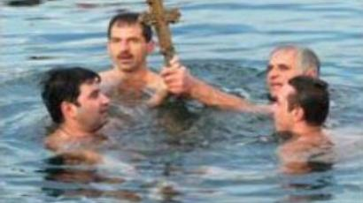 Orthodox Russians celebrate Epiphany