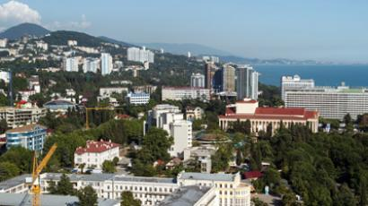 The city of Sochi (RIA Novosti / Mikhail Mokrushin)