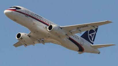 A Sukhoi Superjet 100 (AFP Photo / Ben Stansall)
