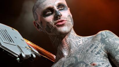 Moscow's annual tattoo convention (RIA Novosti / Vitaly Bezrukih)