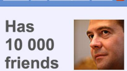 Blogger Medvedev expands on the Internet