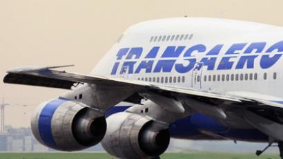 A Transaero Boeing (RIA Novosti / Ruslan Krivobok)