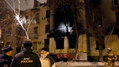 Belladzhio cafe after a gas tank explosion (RIA Novosti / Kirill Braga)