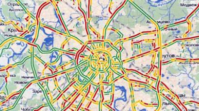 Yandex launches online traffic jam forecasts
