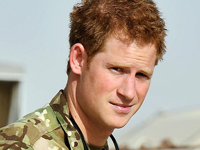 Britain's Prince Harry (Reuters / Pool New)